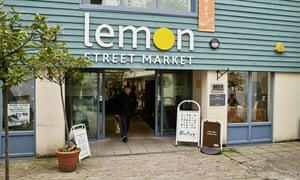 Lemon Street market, Truro, Cornwall