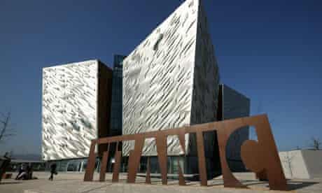 Titanic House Vistor Centre in the Titanic Quarter, Belfast