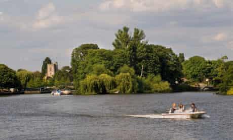 Eel Pie island, River Thames, Twickenham