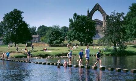 Bolton Abbey, Wharfedale, North Yorkshire