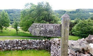 The coast to coast path, North Yorkshire