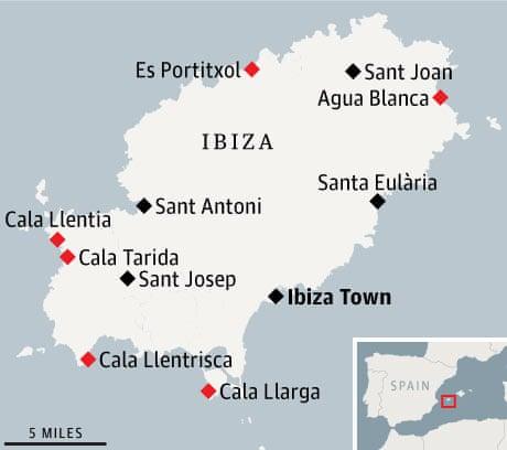 Ibiza\'s secret beaches | Travel | The Guardian