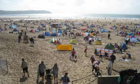 Woolacombe beach, Devon