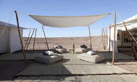 Scarabeo Camp in Agafay, Morocco