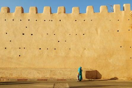The ancient city walls of Taroudannt.
