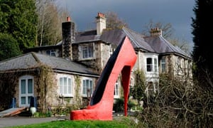 Broomhill  Art Hotel and sculpture park near Barnstaple, Devon, UK