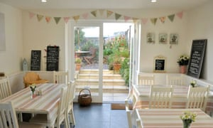 Sandleigh Tea Room and Garden, Croyde