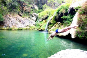 Dive in, the water's lovely     wild swimming in France | Travel
