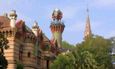 Gaudí's' El Capricho villa in Comillas, Spain
