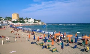 Blog When In Rome Head For The Beach Travel The Guardian