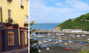 The Fishguard Arms and Fishguard harbour