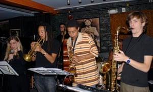 Smalls Jazz Club in Greenwich Village New York