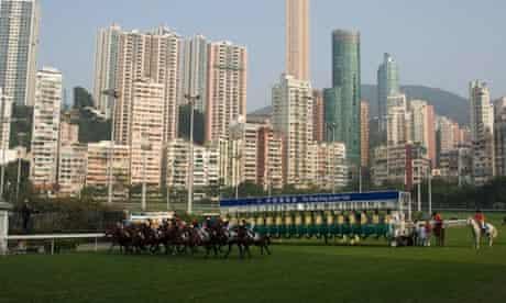Hong Kong Happy Valley racecourse