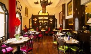 Dining room at China Club