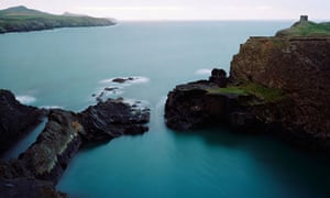 Abereiddy Blue Lagoon Pembrokeshire