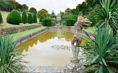 Gardens at Mapperton House, Dorset