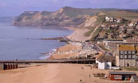 England Dorset Bridport West Bay. Image shot 2000. Exact date unknown.