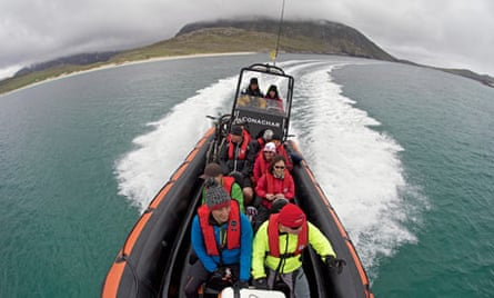 A boat opens up inaccessible parts of Harris and Lewis on the Hebridean Trail