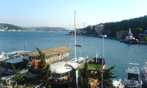 View from Fish Var restaurant, Istanbul
