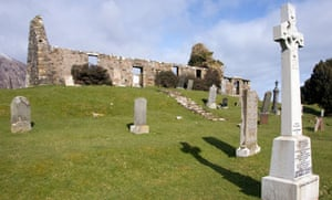 The ruined church of Cill Chriosd
