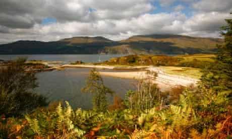 Sandaig Bay Scotland