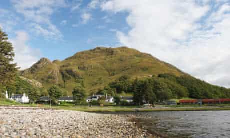 The Village of Corran, shore of Loch Hourn