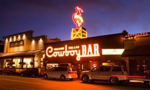 Cowboy bar in Jackson, Wyoming