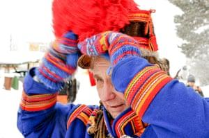 Sami Lapland: Sámi elder Per Kuhmunen