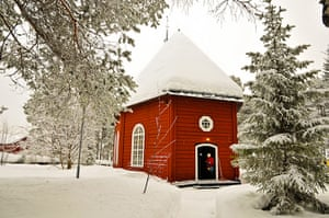 Sami Lapland:  Jokkmokk's old church