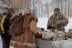 Sami Lapland: Stallholder