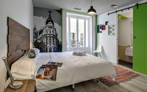 Luxury hostels: U Hostel, Madrid, Spain