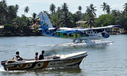 One of SriLankan Air Taxis' 'go-anywhere' Twin Otter seaplanes.