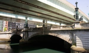 Nihonbashi, the bridge where the five  arterial roads of medieval Japan meet