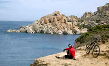 Beach-to-beach cycling in Sardinia