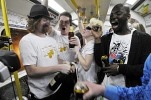 Tube through the decades: Last day of drinking on London Underground