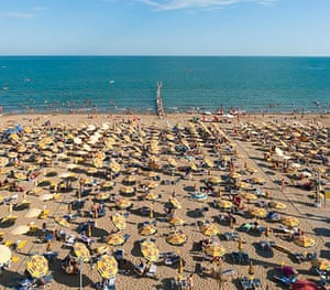 By the seaside … one of Venice's beaches (naturists not pictured).