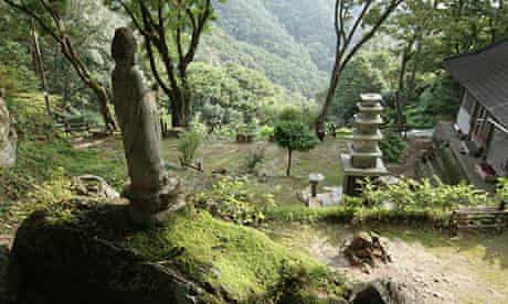 A Buddhist temple on the trail