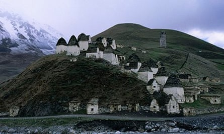 Dargavs, City of the Dead: North Ossetia, Russia