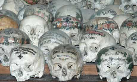 The Halstatt Bonehouse: Hallstatt, Austria