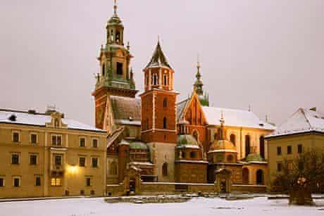 The 'Narnian' towers of Krakow's Wawel castle