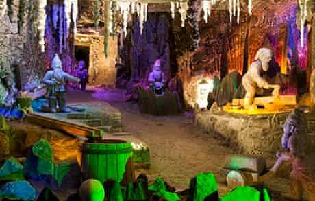 the magical underground world of Wieliczka's salt mines