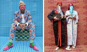 Portraits by Marrakech-born pop artist Hassan Hajjaj, popularly known as Morocco's Andy Warhol.