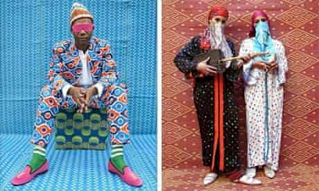 Portraits by Marrakech-born pop artist Hassan Hajjaj, popularly known as Morocco's Andy Warhol.
