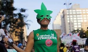 Brazil drugs marcher