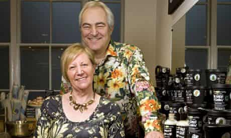 Lush founders Mo and Mark Constantine