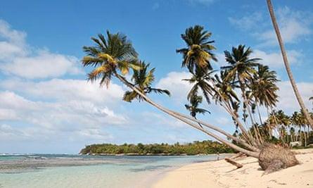 Las Galeras beach, Samana, Dominican Republic