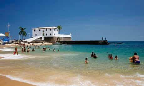 Porto da Barra, Salvador's favourite city beach.