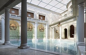 The Gainsborough in Bath is the first hotel to tap the town's thermal waters