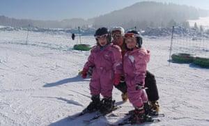 Skiing in the Tatras, Poland