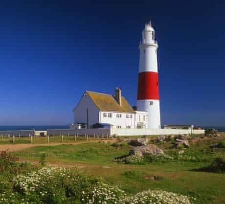 UK,Dorset,Weymouth,Portland Bill,Portland Lighthouse
